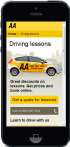 The AA Mobile Website